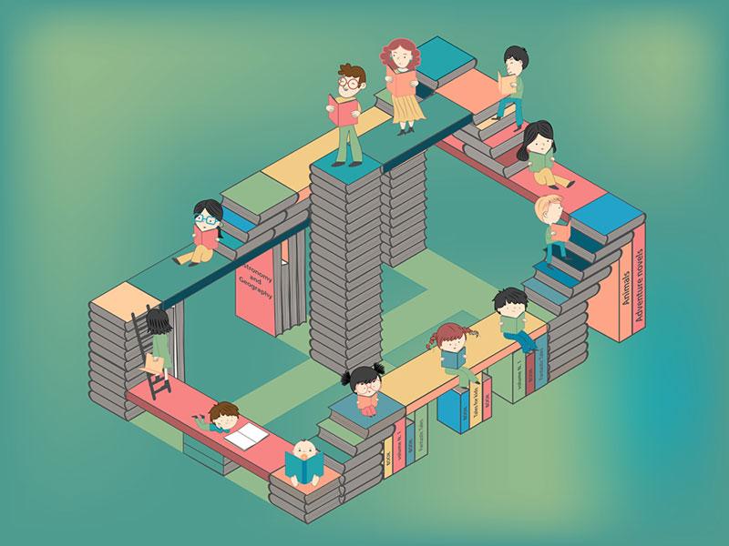 Una città di libri - Crescere leggendo