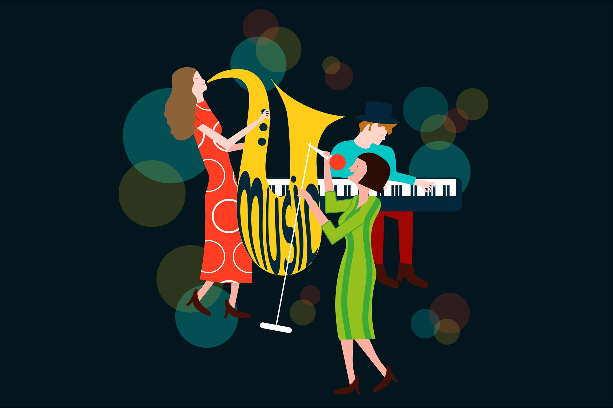 Barbara Marini - Illustrazioni, grafica, eventi musicali