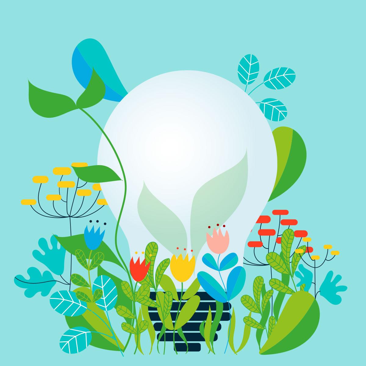 Barbara Marini - Illustrazioni idea ecologica e cura per l'ambiente