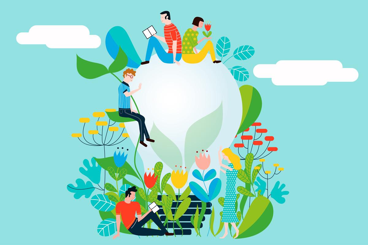 Barbara Marini - Illustrazioni vita ecologica e cura per l'ambiente