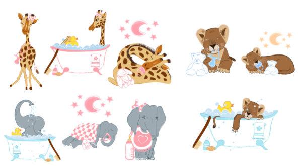 Illustrazioni per bambini vettoriali con Adobe Illustrator
