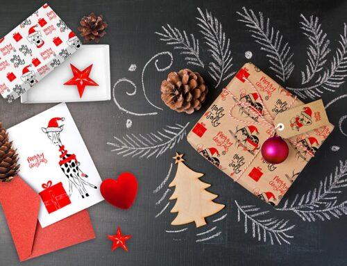Risorse grafiche, illustrazioni, decorazioni biglietti d'auguri, pattern per Natale
