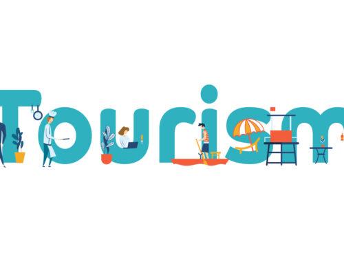 Illustrazione per landing page di aziende del turismo