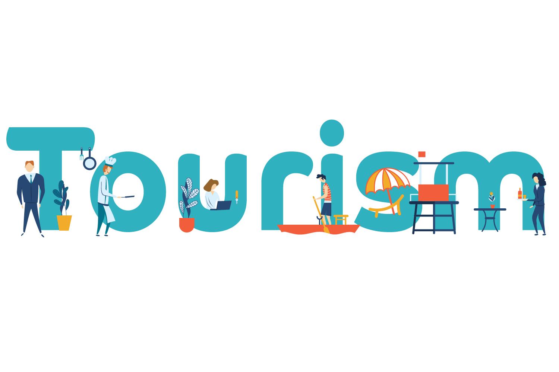 Turismo: illustrazione per testata di landing page per il settore turistico