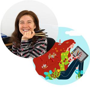 Barbara Marini - Grafica, Illustratrice, Designer