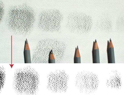 Creare texture vettoriali personalizzate da matita su carta