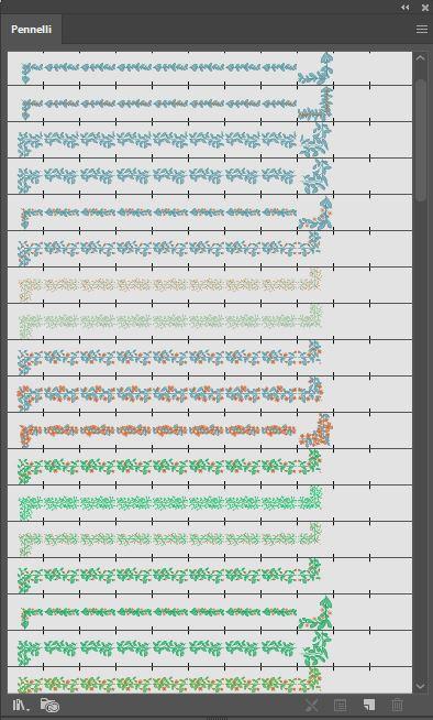 Libreria pennelli pattern personalizzati download gratuito