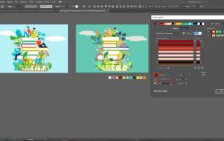 Ricolora grafica: varianti colore con Adobe Illustrator