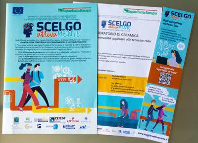 Brochure, schede informative e segnalibro per Scegliere Attivamente