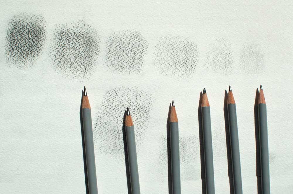 Da sfumature a matita realizzare texture vettoriali