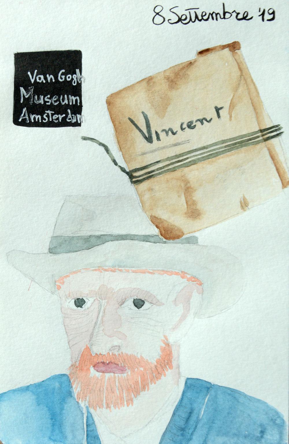Diario di viaggio: Van Goghacquerello e china