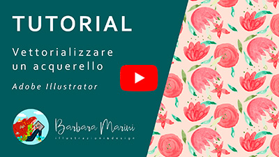 Video tutorial su YouTube per imparare a vettorializzare un disegno